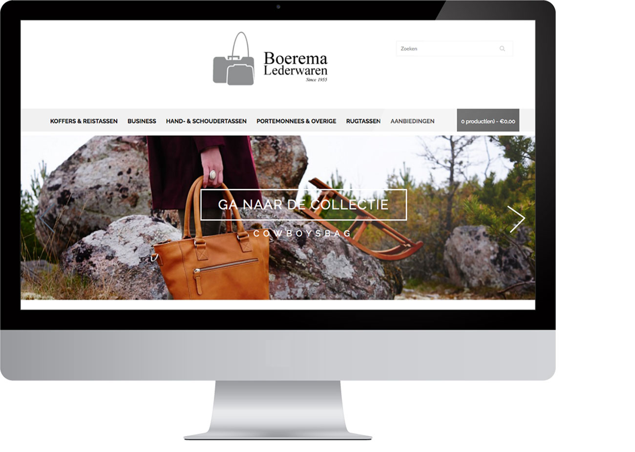 Boerema Lederwaren – Webwinkel by Bottle Post Media