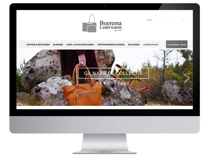 Boerema Lederwaren Webwinkel by Bottle Post Media