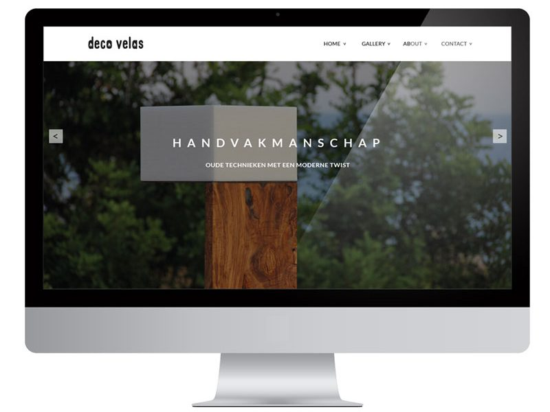 Deco Velas & Van Dijk webwinkel by Bottle Post Media