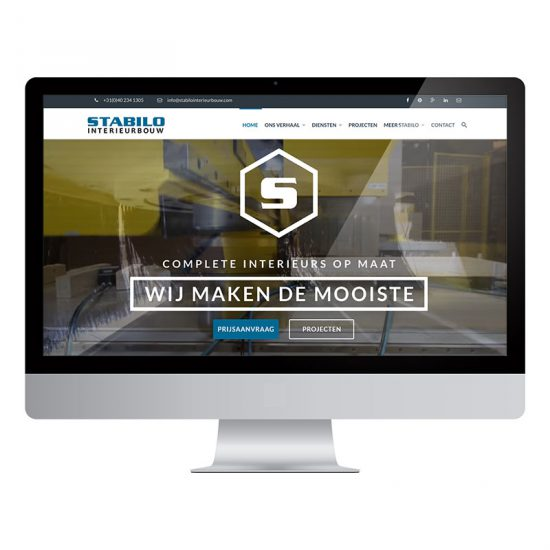 Stabilo Interieurbouw website