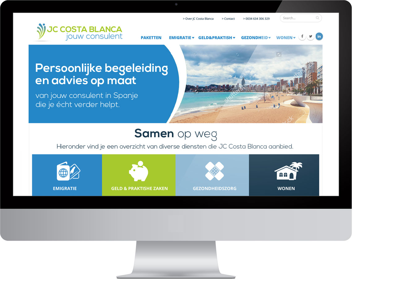 JC Costa Blanca – Website by Bottle Post Media