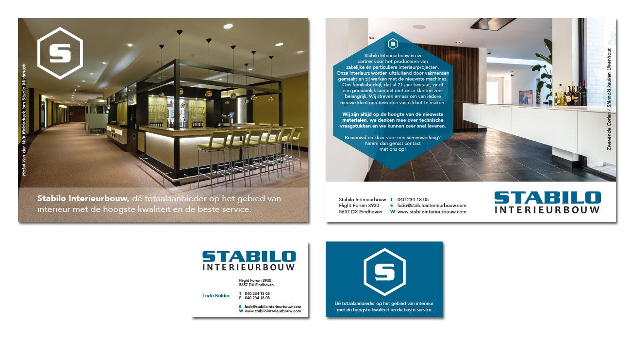 Stabilo Interieurbouw – Flyers & Visitekaartjes by Bottle Post Media