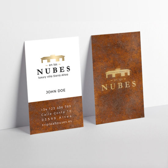 En las Nubes Logo Website Branding Costa Blanca