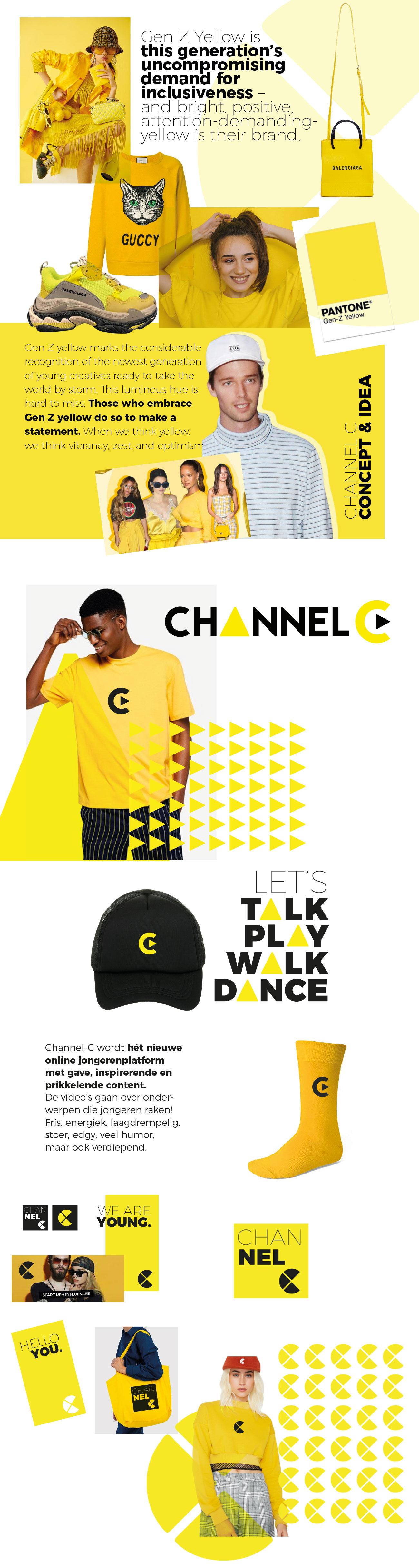 Channel C Branding en huisstijl Costa Blanca