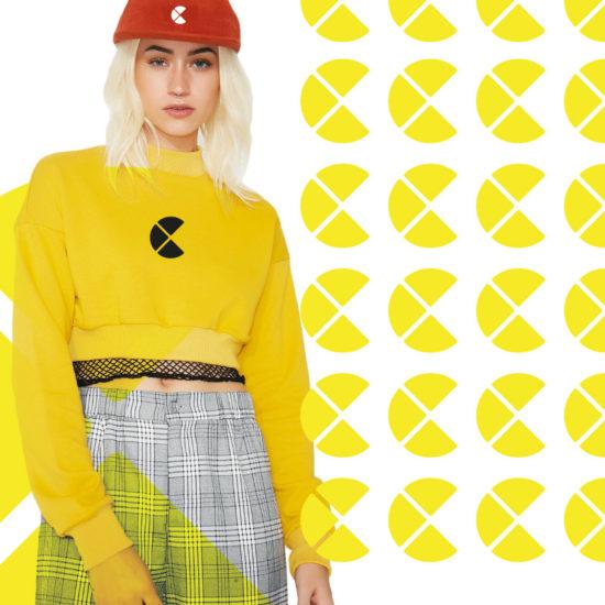 Woman in Channel C clothing Branding en huisstijl Costa Blanca
