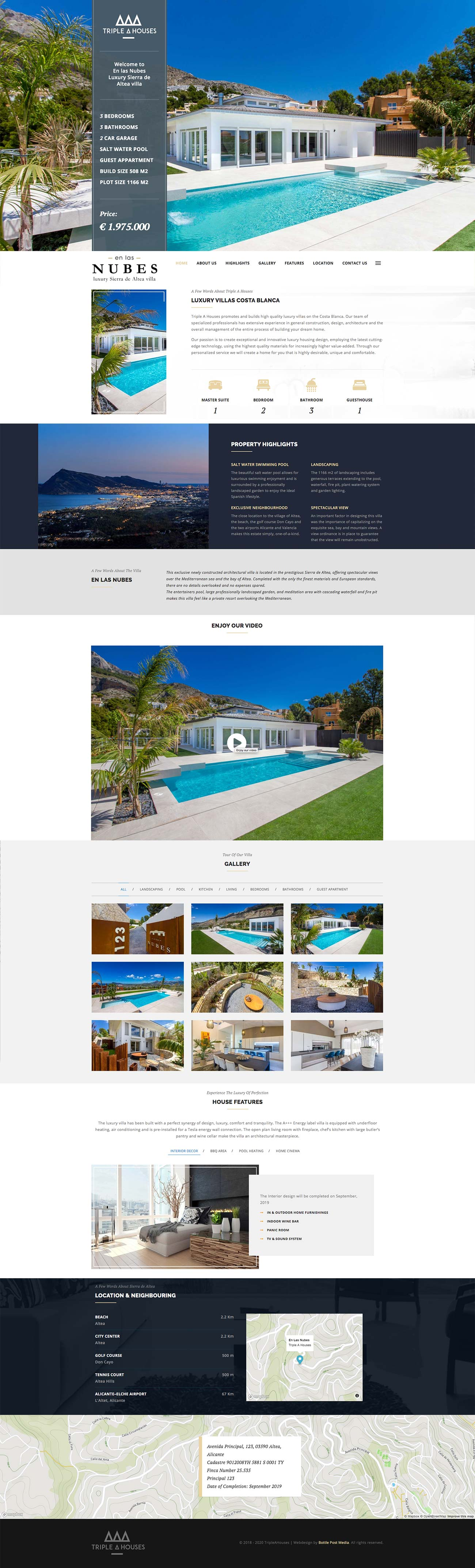 Website design Costa Blanca En las Nubes