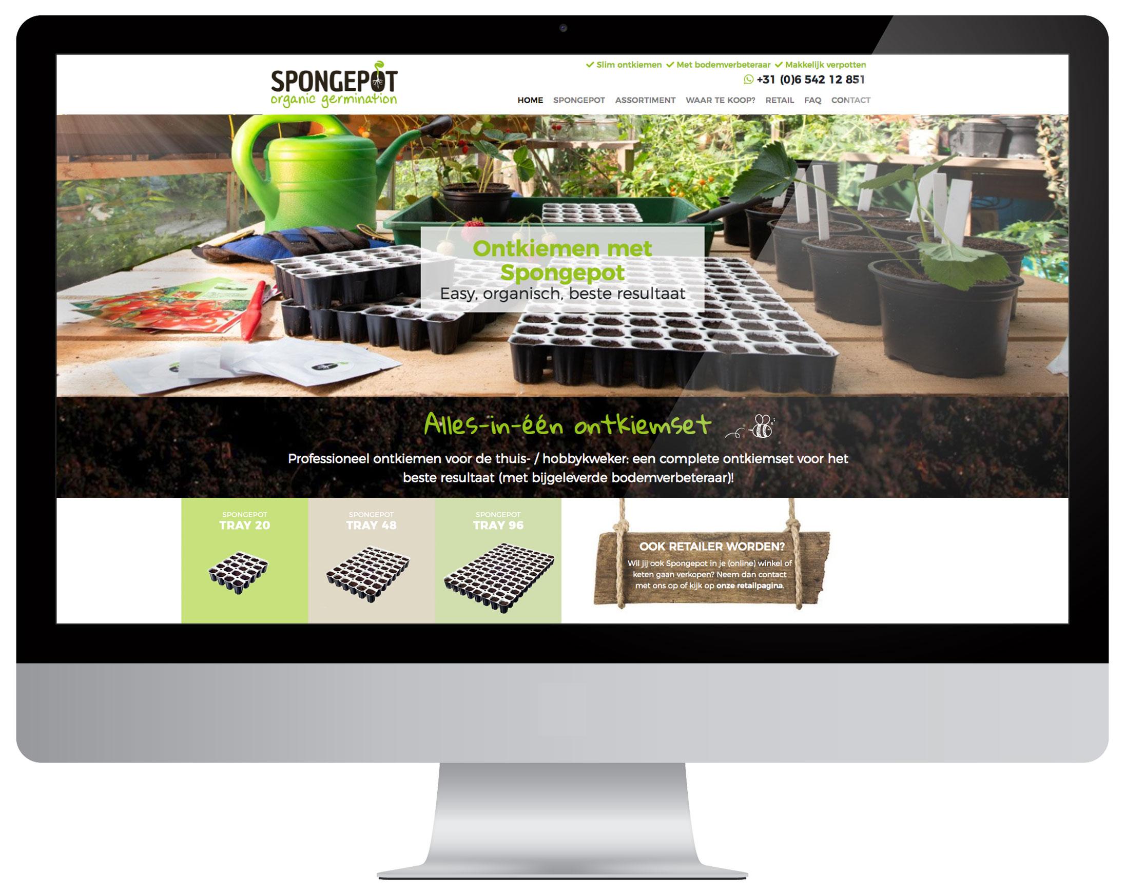 Spongepot webdesign Costa Blanca