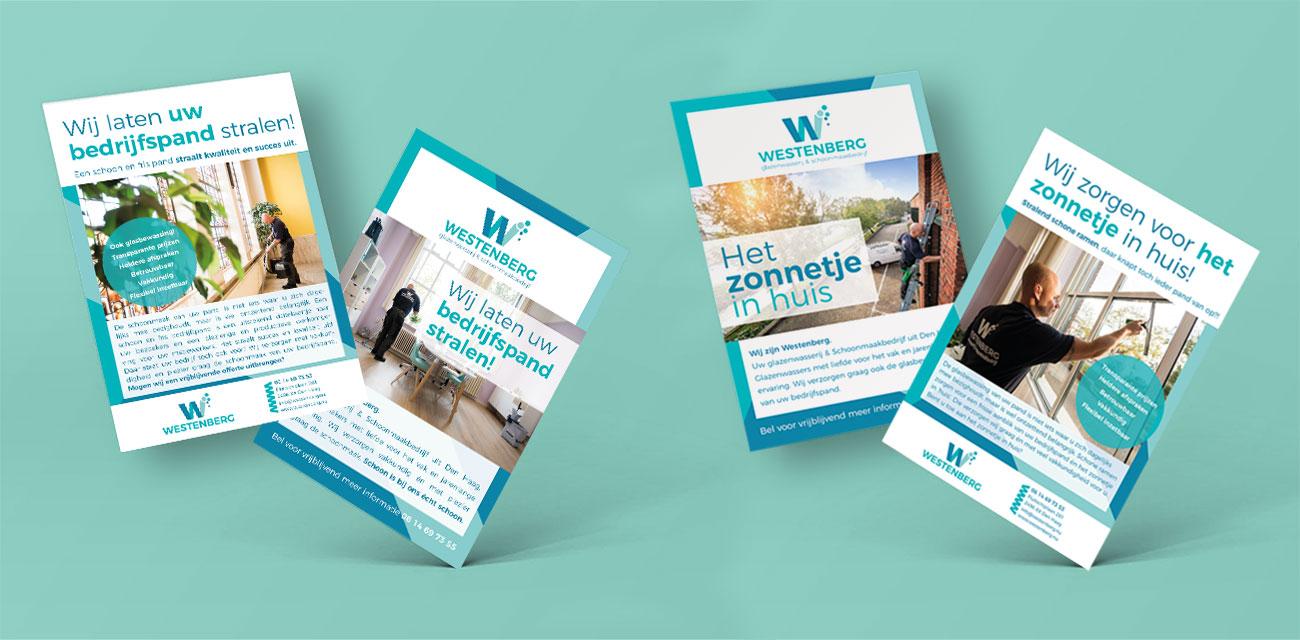 Flyer ontwerp Westenberg grafische vormgeving Costa Blanca