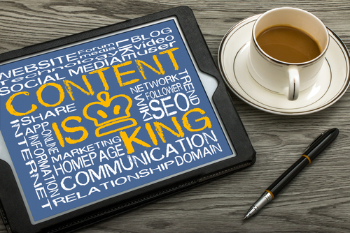 Online advertising through Content Marketing