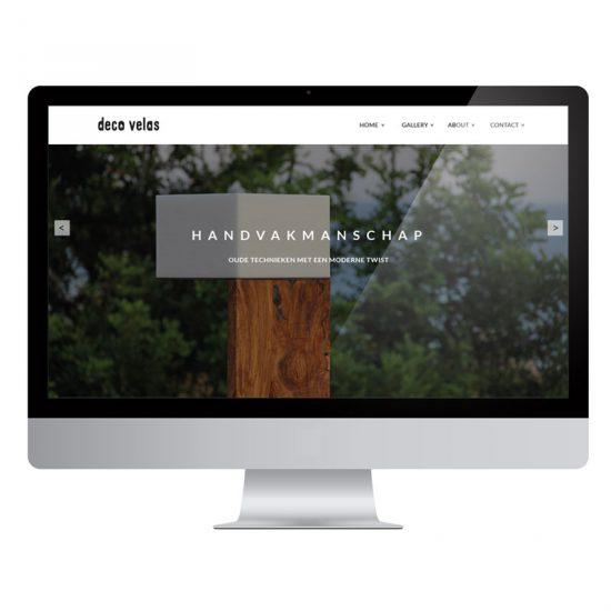 Deco Velas & Van Dijk - Webshop by Bottle Post Media