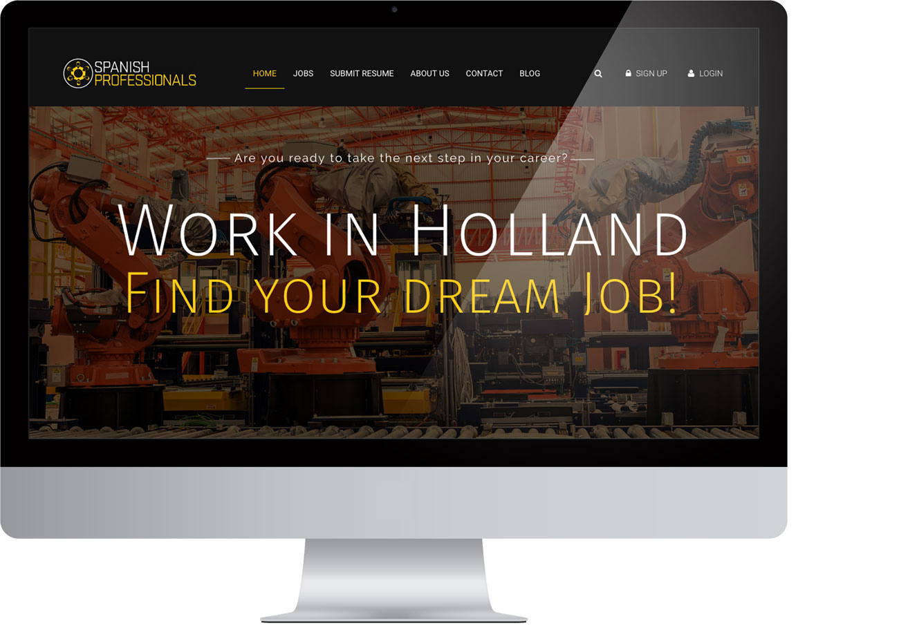 Spanish Professionals – Website by Bottle Post Media