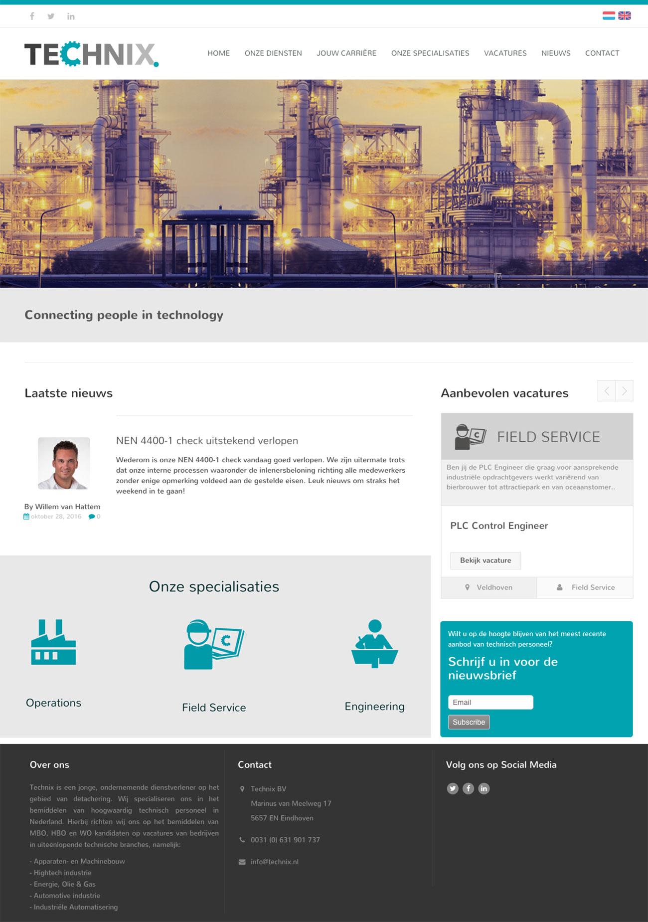 Technix – Webdesign & Printmedia by Bottle Post Media