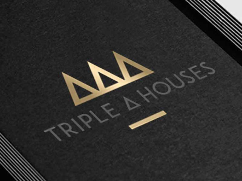 Triple A Houses Corporate Identity Costa Blanca